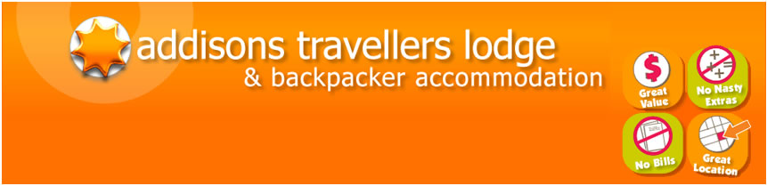 Addisons Travellers Lodge and Backpacker Accommodation